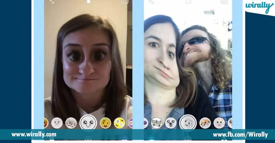 8 best filters of Snapchat
