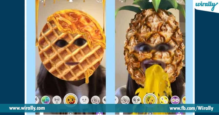 9 best filters of Snapchat