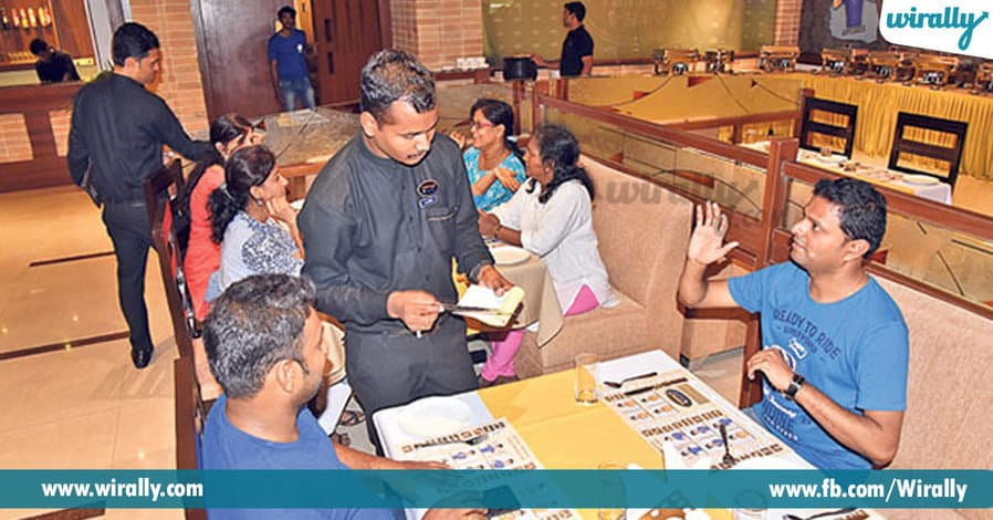 First of its kind 'Talking Hands' restaurant in hyderabad