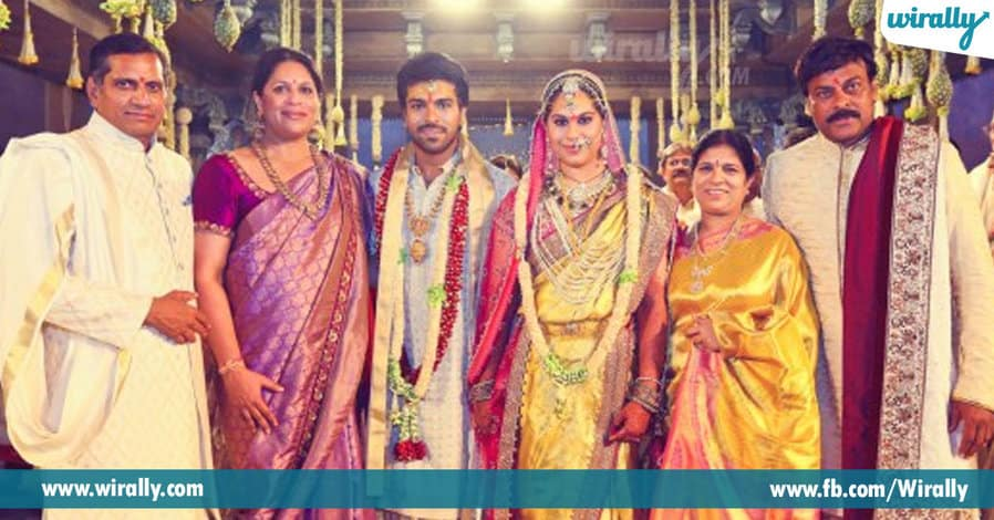 tollywood heroes wedding