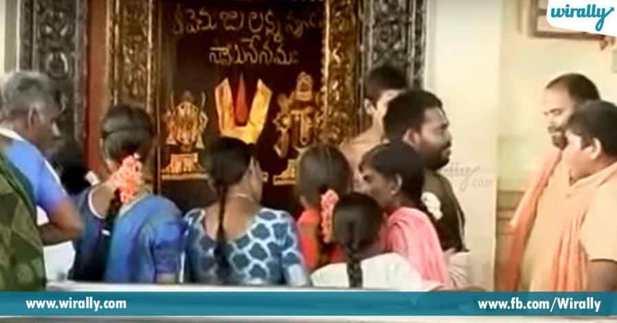 5 sri lakshmi narasimhaswami ugra rupamlo darshanamiche veyyi nuthula kona