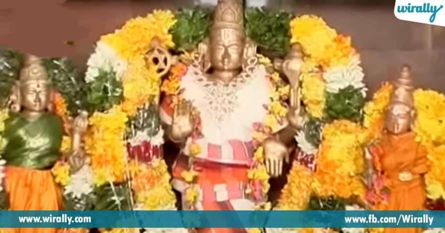 6 sri lakshmi narasimhaswami ugra rupamlo darshanamiche veyyi nuthula kona