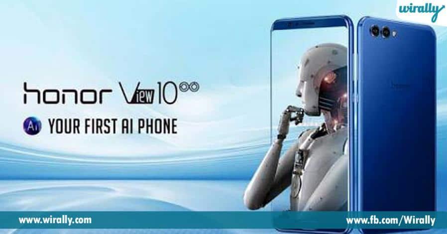 1 Unbeatable AI-Powered Honor View 10