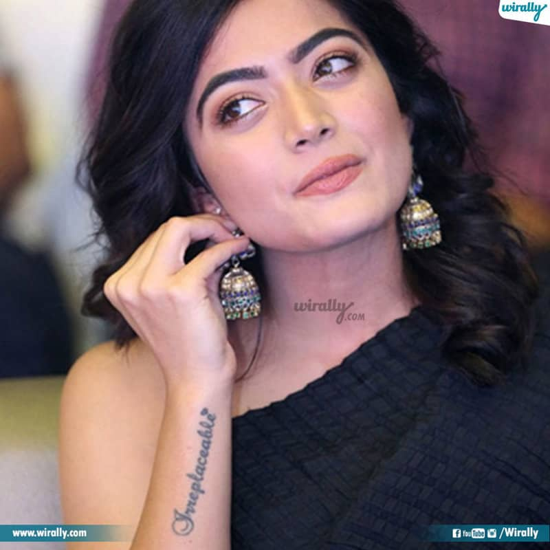 South Indian Actors Tattoos