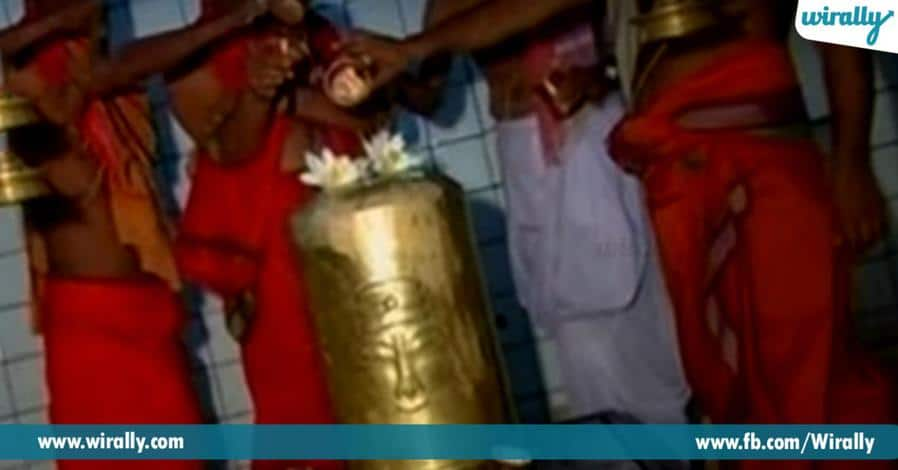 5 ekkada leni vidhanga grahadhipathulu vari vahanaltho vidi vidiga darshanamiche alayam