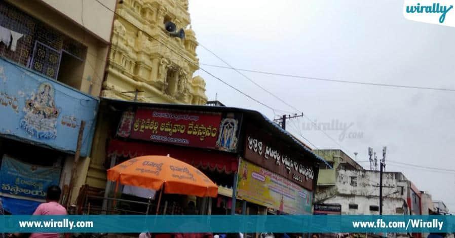 6 vijayanagara rajula kula devatha sri paidithalli ammavari alayam