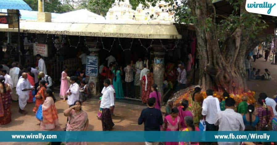 7 shivudini sambashivudiga piliche sri bramaramba sametha sri malleswaraswami alayam