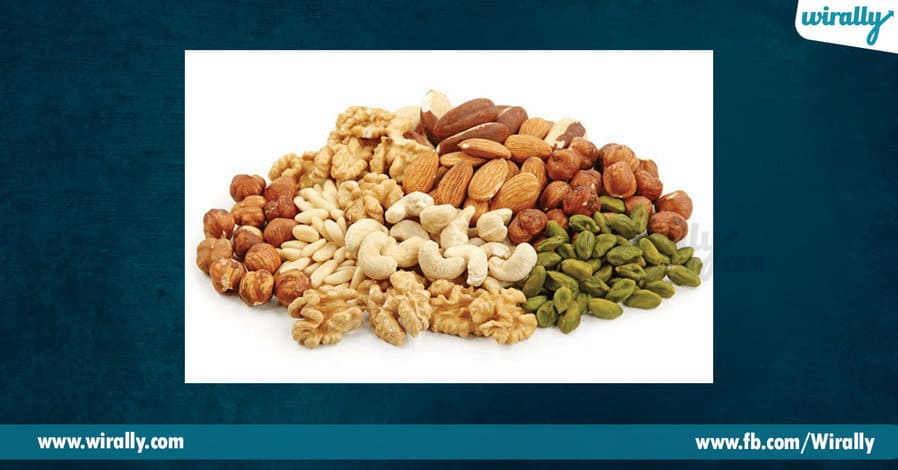 5 - dry fruits