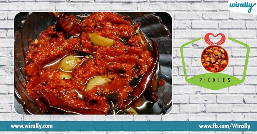 6 Types of Hyderabadi Pickels