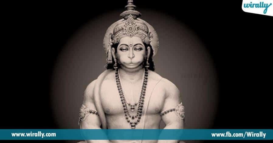 6 bayani pogotte swetharka anjaneya swami