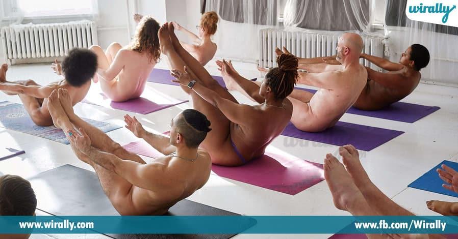 9 - nude yoga