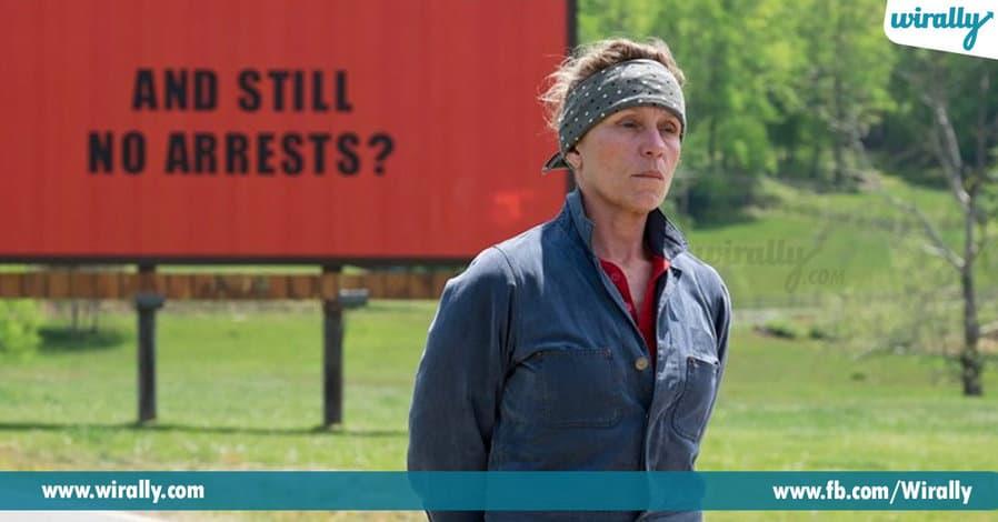 Frances McDormand for Three Billboards Outside Ebbing, Missouri