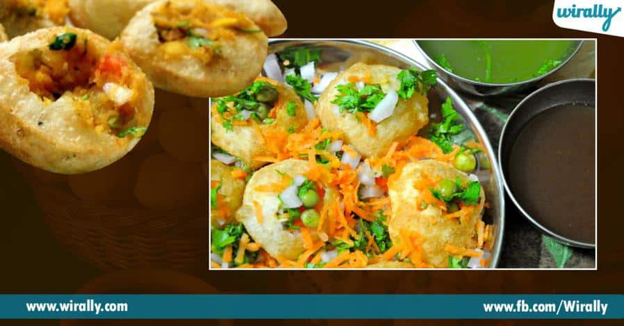 9 Different names for pani puri