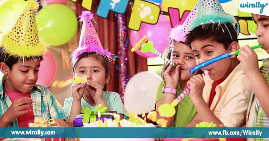 9 - birthday party