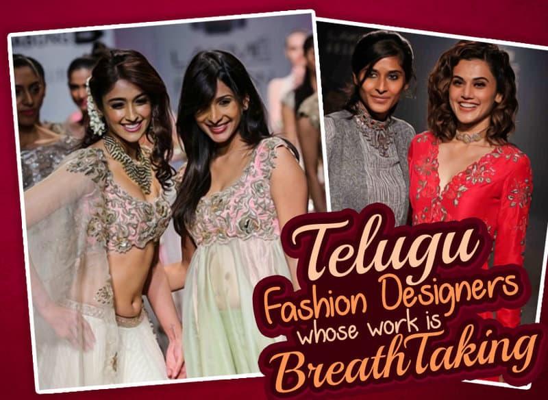 10 Telugu Fashion Designers Whose Work Is Breathtaking Wirally