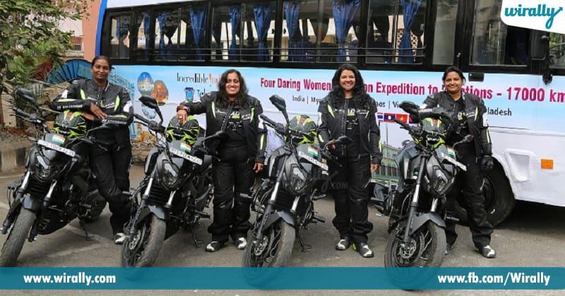 women bikers