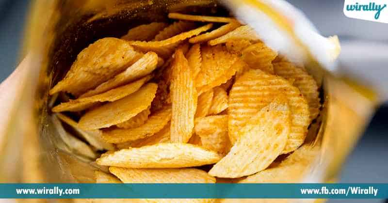 3 Do you know why your favourite packet of chips is filled with air