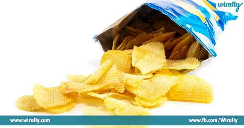 4 Do you know why your favourite packet of chips is filled with air