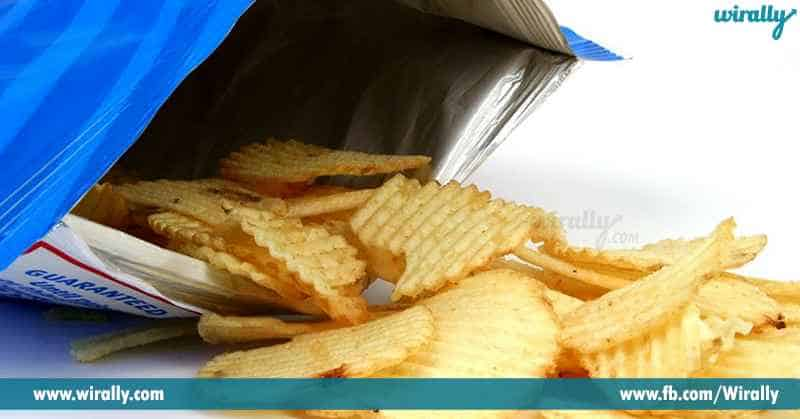 5 Do you know why your favourite packet of chips is filled with air
