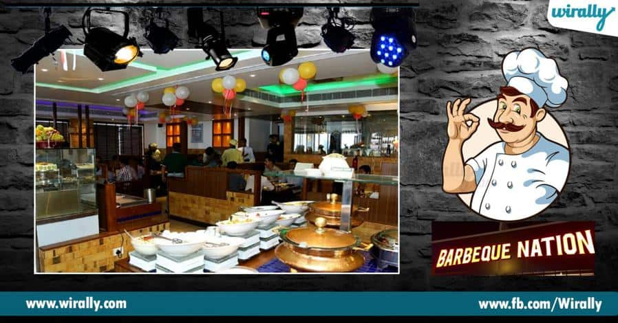5 best buffets places in Hyderabad