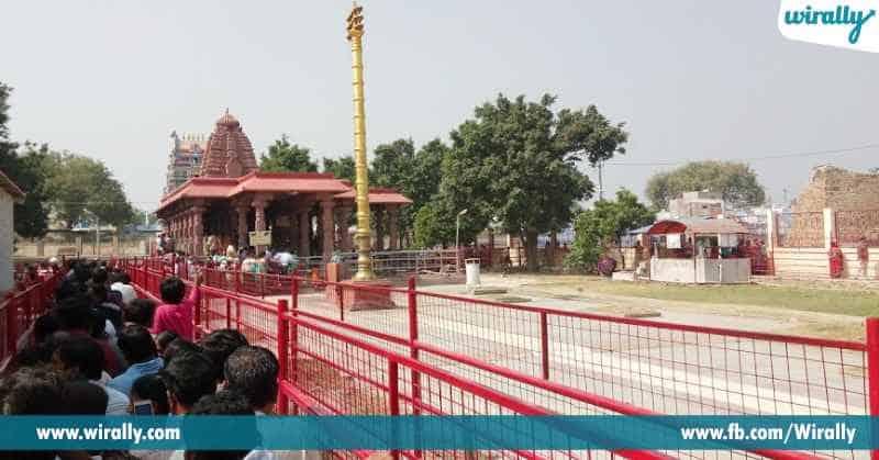 7 srishaila mallanaku pachima dwaram ekkada