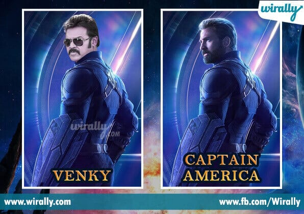 Tollywood Stars Compared To Avengers Heroes