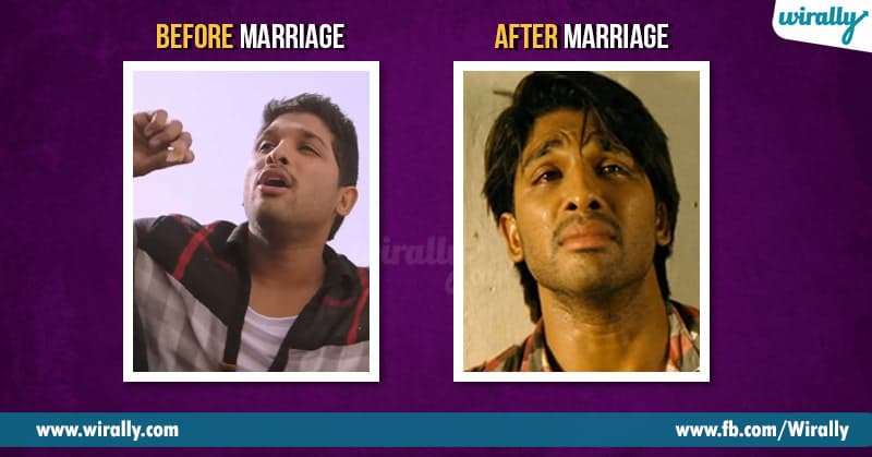 Before marriage after marriage: