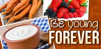 Health Foods for Young Forever