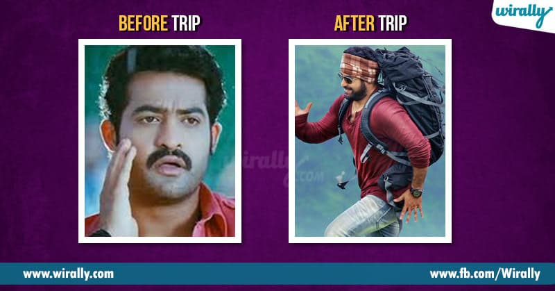 Before trip after trip