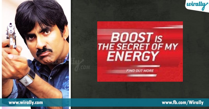 Boost is the secret of my energy