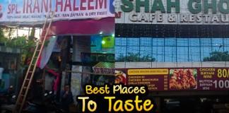 Best haleem places in Hyderabad
