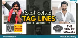 What if famous company mottos are given to tollywood celebrities
