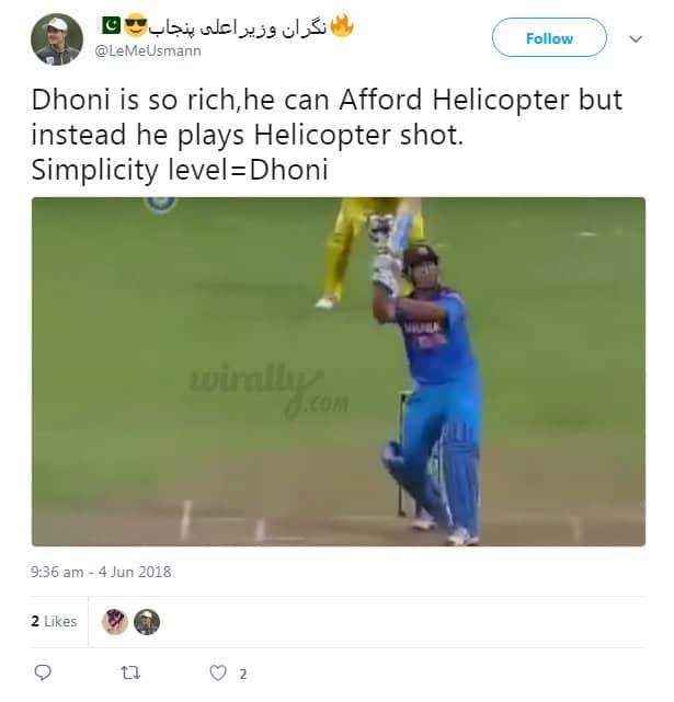 MS Dhoni Simplicity Memes