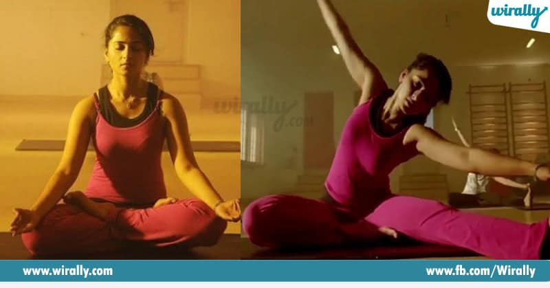Indian Celebrities Who Practice Yoga
