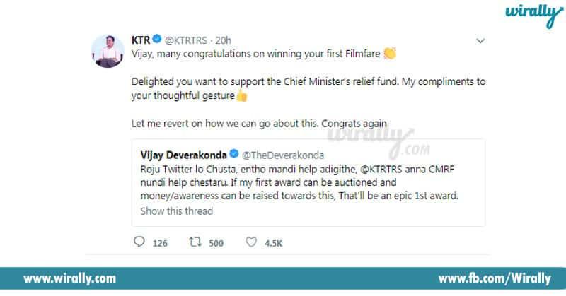 Vijay Deverakonda Who Won Filmfare Award