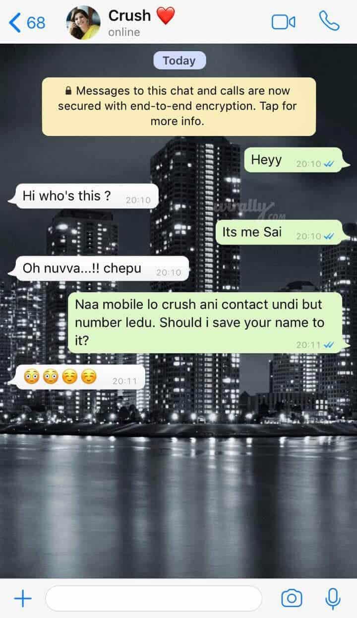 Flirty Whatsapp One-Liners