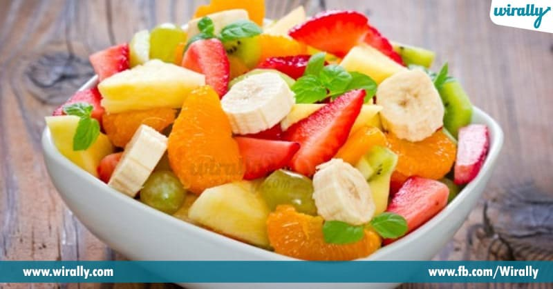 2 cup chopped mixed fruits