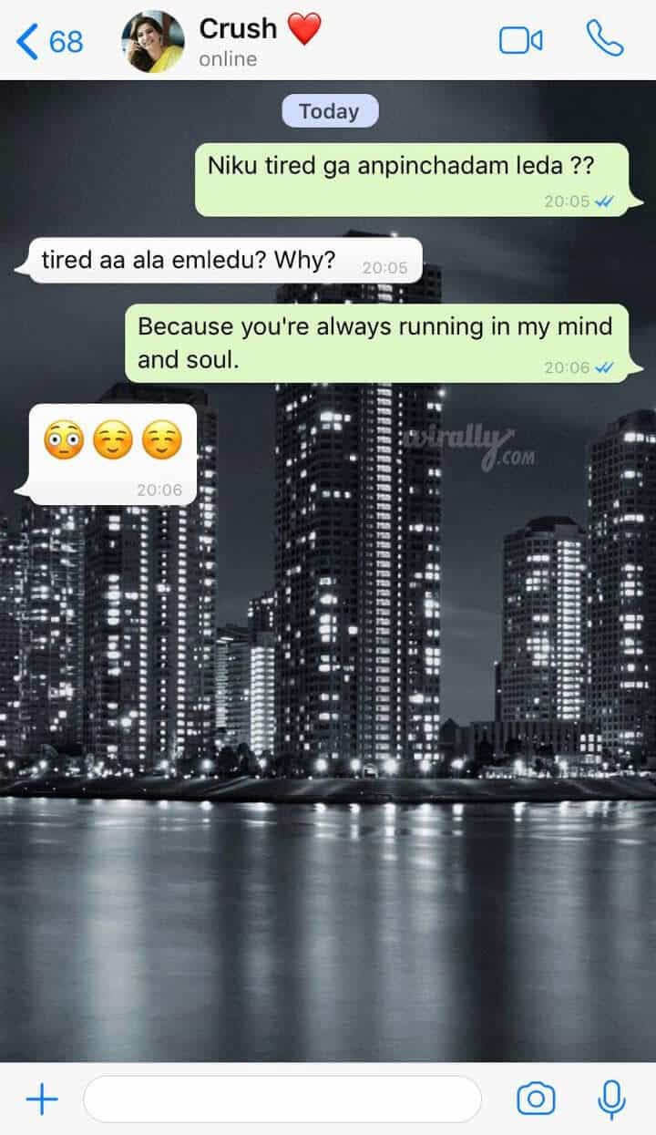 Flirty Whatsapp One-Liners