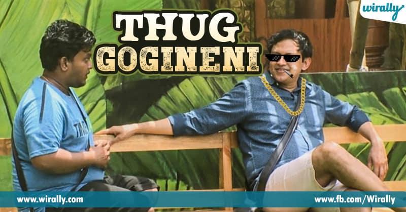 Babu Gogineni's Thug Life Moments From Bigg Boss House - Wirally