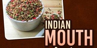 Indian mouth freshener