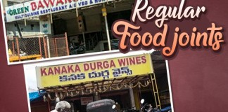 Regular food joint names