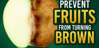 Prevent Fruits From Turning Brown