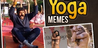 Hilarious Yoga Day Memes