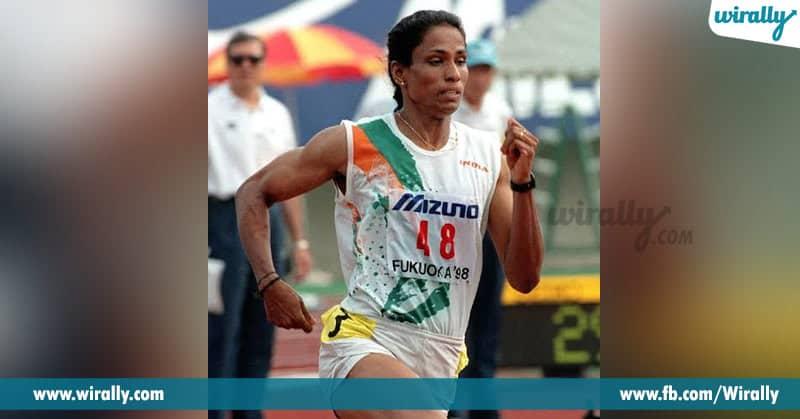 famous sportswomen pt.usha