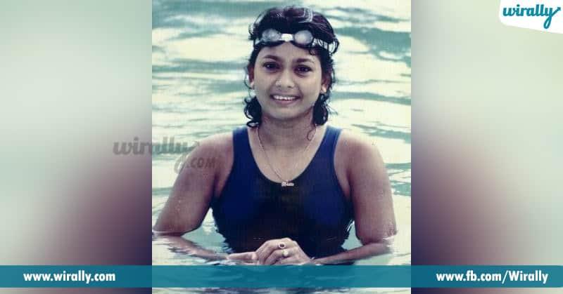 famous sportswomen in swimming