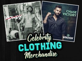 Indian Celebrities Own Clothing Merchandise