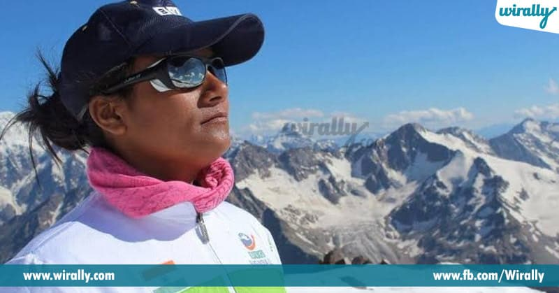 famous sportswomen in mountain climber