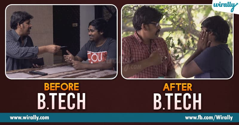 Engineering Life Before and After