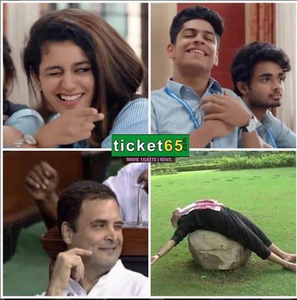 Rahul Gandhi Recreated Priya Varrier Wink
