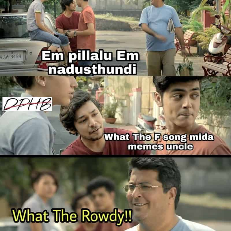 Hindi Arjun Reddy Song Already Creating Waves: 'What The F' Song Goes Really Wrong And Meme Rowdies Are